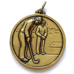 Golf Scene Medals